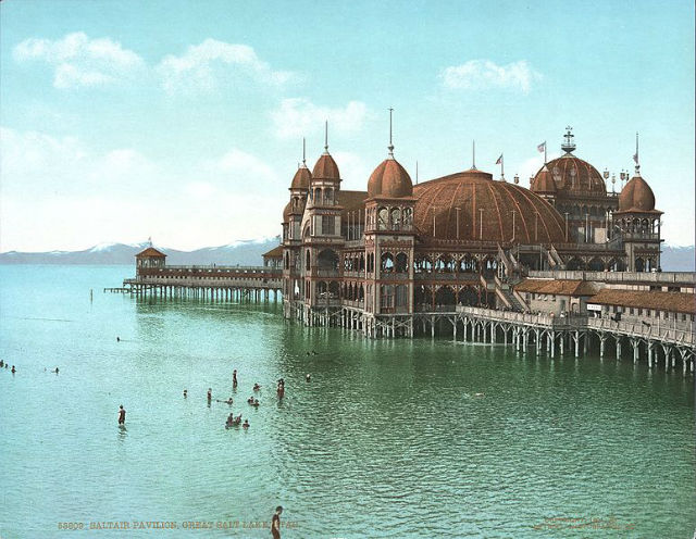 Great Salt Lake Marina - Saltair Pavillion Circa 1910