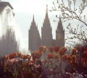 Temple Square in Salt Lake