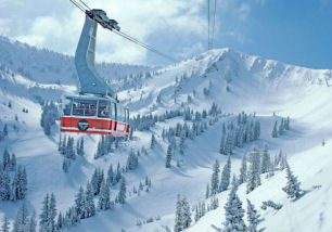 The Tram at Snowbird Mountain Resort