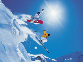 Visit Utah and Snowboard at Utahs Resorts